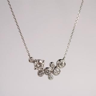 Diamonds stardust necklace