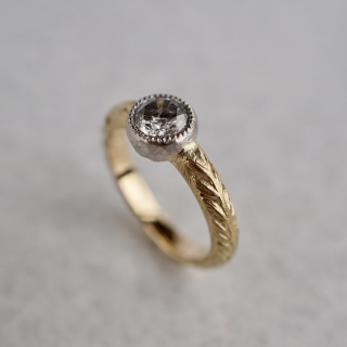 Diamond combination ring