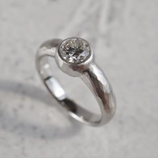 Diamond bezel ring